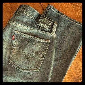 Vintage Levis 527 Low Boot Cut Jeans 36x32